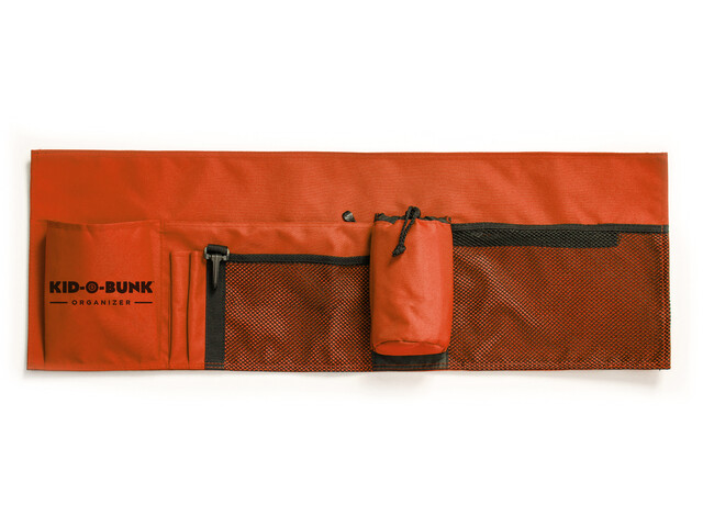 Disc-O-Bed Side Pockets for Kid-O-Bed/Kid-O-Bunk, rojo